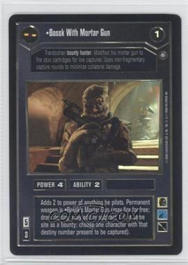 2000 Star Wars Customizable Card Game: Reflections 2 - Foil Reprint Pack #NoN - Bossk with Mortar Gun
