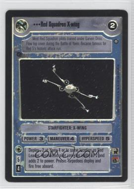 2000 Star Wars Customizable Card Game: Reflections 2 - Foil Reprint Pack #NoN - Red Squadron X-Wing