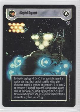 2000 Star Wars Customizable Card Game: Reflections 2 Foil Reprint Pack #NoN - Capital Support