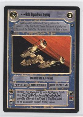 2000 Star Wars Customizable Card Game: Reflections 2 Foil Reprint Pack #NoN - Gold Squadron Y-Wing