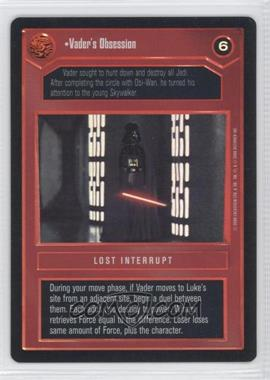 2000 Star Wars Customizable Card Game: Reflections 2 Foil Reprint Pack #NoN - Vader's Obsession