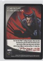 Wolverine Promotional Card