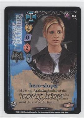 2002 Buffy the Vampire Slayer Collectible Card Game - Class of '99 [Base] #225 - Buffy Summers - Hero-Slayer