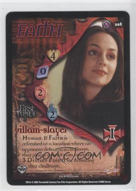 2002 Buffy the Vampire Slayer Collectible Card Game Class of '99 [Base] #228 - Faith - Villain Slayer