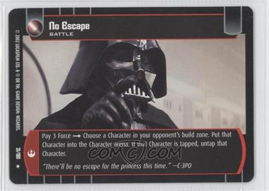 2002 Star Wars: The Trading Card Game - A New Hope - Booster Pack [Base] #31 - No Escape