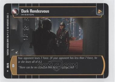 2002 Star Wars: The Trading Card Game - Attack of the Clones Booster Pack [Base] #10 - Dark Rendezvous