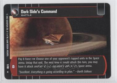 2002 Star Wars: The Trading Card Game - Attack of the Clones Booster Pack [Base] #11 - Dark Side's Command