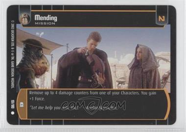 2002 Star Wars: The Trading Card Game - Attack of the Clones Booster Pack [Base] #151 - Mending