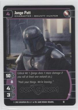 2002 Star Wars: The Trading Card Game - Sith Rising Booster Pack [Base] #13 - Jango Fett