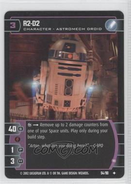 2002 Star Wars: The Trading Card Game - Sith Rising Booster Pack [Base] #54 - R2-D2