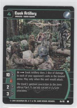 2004 Star Wars: The Trading Card Game - Return of the Jedi Booster Pack [Base] #84 - Ewok Artillery