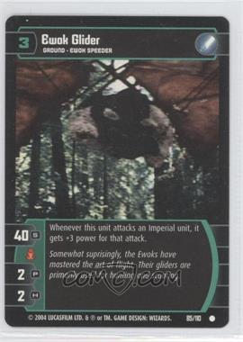 2004 Star Wars: The Trading Card Game - Return of the Jedi Booster Pack [Base] #85 - Ewok Glider