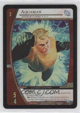 2004 VS System DC Justice League of America Collector Tin Box Set Promos #DJL-001 - Aquaman (- Arthur Curry)