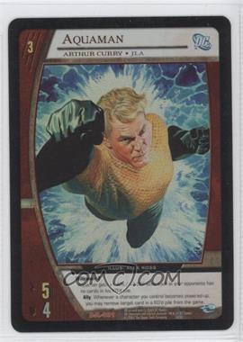 2004 VS System DC Justice League of America Collector Tin Box Set Promos #DJL-001 - Aquaman (Arthur Curry)