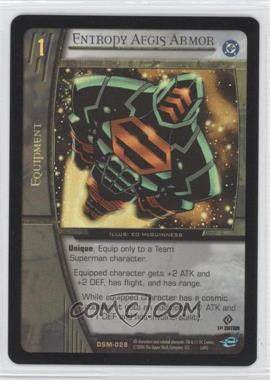 2004 VS System DC Superman - Man of Steel - Booster Pack [Base] - 1st Edition Foil #DSM-028 - Entropy Aegis Armor