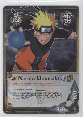 2006-2013 Naruto Collectible Card Game: - Assorted Promos #PR038 - Naruto Uzumaki