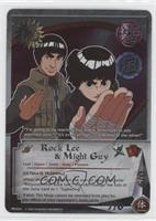 Rock Lee & Might Guy