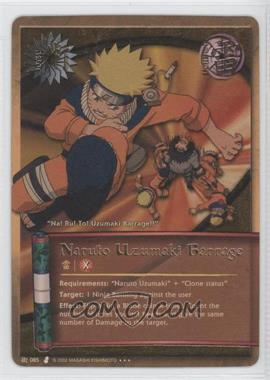 2006 Naruto Collectible Card Game: Curse of Sand - Booster Pack [Base] - Unlimited #J085 - Naruto Uzumaki Barrage