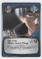 Spy of the Hidden Sound Village