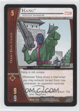2006 VS System Marvel Heralds of Galactus Booster Pack [Base] #MHG-140 - Kang (Destiny Warrior)