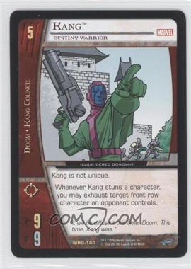 2006 VS System Marvel Heralds of Galactus Booster Pack [Base] #MHG-140 - Kang