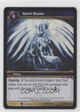 2006 World of Warcraft TCG: Heroes of Azeroth - Booster Pack [Base] #169 - Spirit Healer