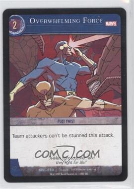 2007 VS System Marvel Legends - Booster Pack [Base] #MVL-263 - Overwhelming Force