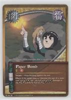 Paper Bomb