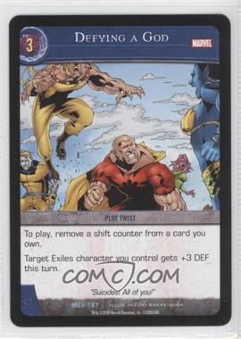 2008 VS System Marvel Evolution Booster Pack [Base] #MEV-167 - Defying a God