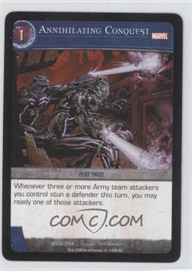 2008 VS System Marvel Universe Booster Pack [Base] #MUN-298 - Annihilating Conquest