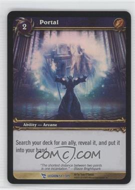 2008 World of Warcraft TCG: March of the Legion Booster Pack [Base] #51 - [Missing]