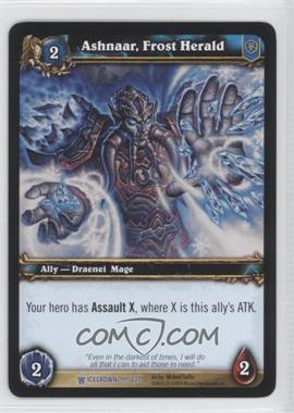 2010 World of Warcraft TCG: Icecrown - Booster Pack [Base] #99 - Ashnaar, Frost Herald