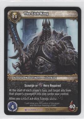 2010 World of Warcraft TCG: Icecrown Booster Pack [Base] #16 - The Lich King