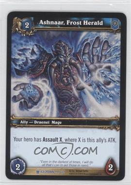 2010 World of Warcraft TCG: Icecrown Booster Pack [Base] #99 - Ashnaar, Frost Herald