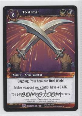 2010 World of Warcraft TCG: War of the Elements Booster Pack [Base] #103 - [Missing]