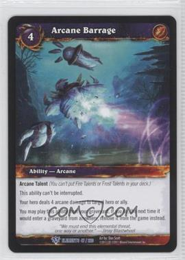 2010 World of Warcraft TCG: War of the Elements Booster Pack [Base] #47 - Arcane Barrage