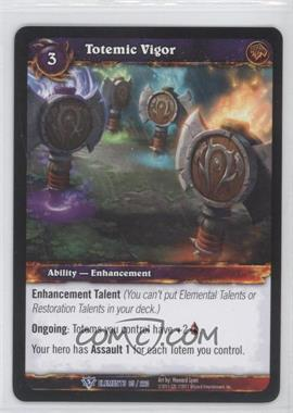 2010 World of Warcraft TCG: War of the Elements Booster Pack [Base] #85 - Totemic Vigor