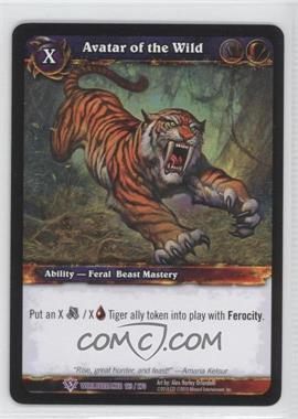 2010 World of Warcraft TCG: Worldbreaker Booster Pack [Base] #123 - Avatar of the Wild