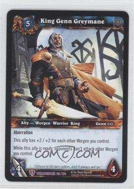 2010 World of Warcraft TCG: Worldbreaker Booster Pack [Base] #145 - King Genn Greymane