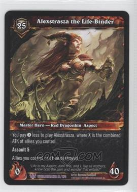 2010 World of Warcraft TCG: Worldbreaker Booster Pack [Base] #21 - Alexstrasza the Life-Binder