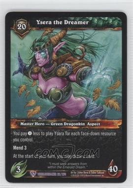 2010 World of Warcraft TCG: Worldbreaker Booster Pack [Base] #22 - Ysera the Dreamer