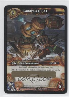 2010 World of Warcraft TCG: Worldbreaker Loot/Insert Redemptions #1 - Landro's Lil' XT