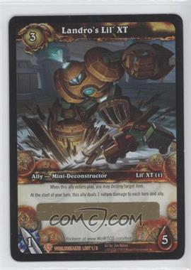 2010 World of Warcraft TCG: Worldbreaker Loot/Insert Redemptions #N/A - Landro's Lil' XT