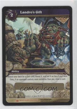 2010 World of Warcraft TCG: Wrathgate Loot/Insert Redemptions #1 - Landro's Gift