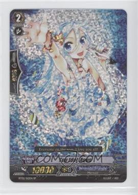 2011 Cardfight!! Vanguard Booster Set 2: Onslaught of Dragon Souls #BT02/S12EN - Top Idol, Aqua (SP)