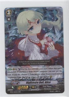 2011 Cardfight!! Vanguard Booster Set 3: Demonic Lord Invasion #BT03/003EN - Nightmare Doll, Alice