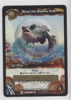 2011 World of Warcraft TCG: Throne of the Tides Loot/Insert Redemptions #1 - Bloat the Bubble Fish