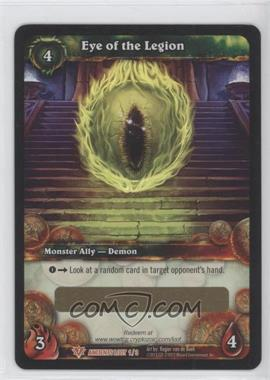 2012 World of Warcraft TCG: Timewalkers - War of the Ancients Loot/Insert Redemptions #N/A - Eye of the Legion