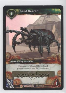 2012 World of Warcraft TCG: Tomb of the Forgotten Loot/Insert Redemptions #1 - Sand Scarab