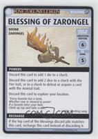 Blessing of Zarongel